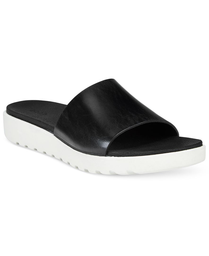 ECCO Women's Freja Slide Sandals o1Ehm95