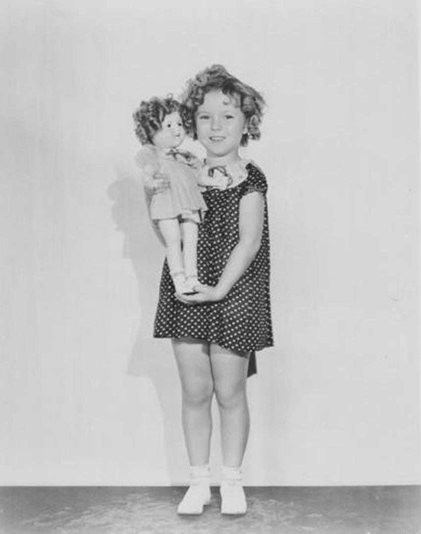 Shirley Temple &shirley Temple Doll Baby Take A Bow 1934