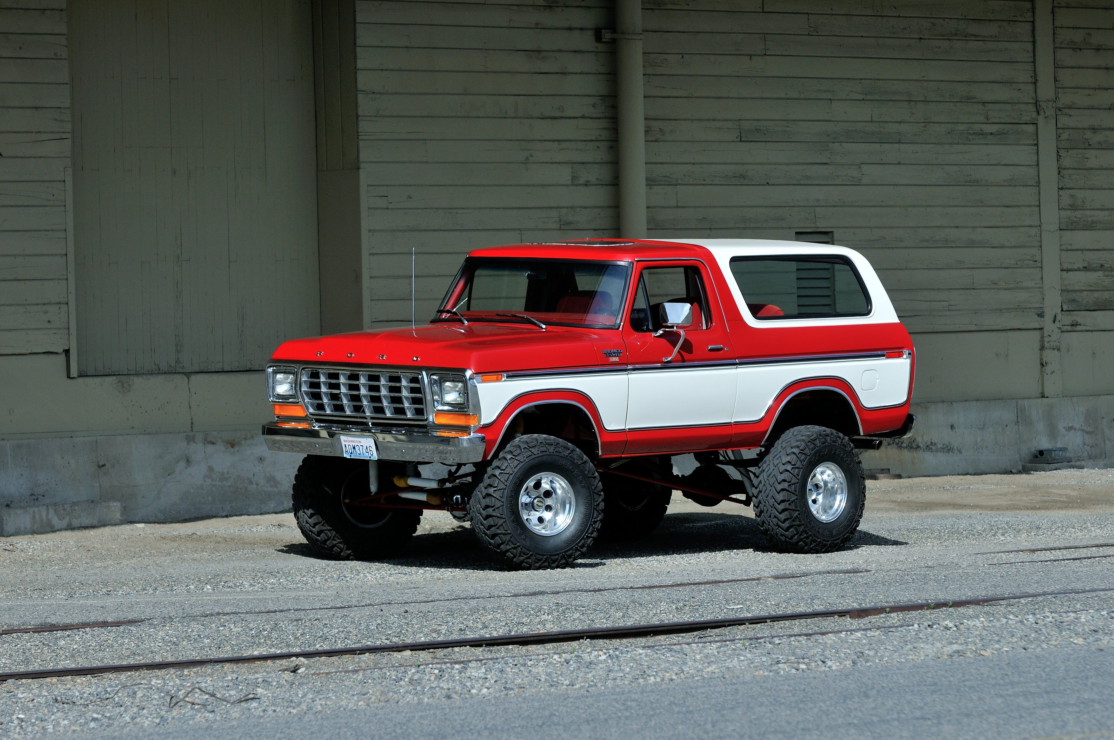 1979 Ford Bronco Off Road Four Wheel Drive USA -01 | Vehicles ...