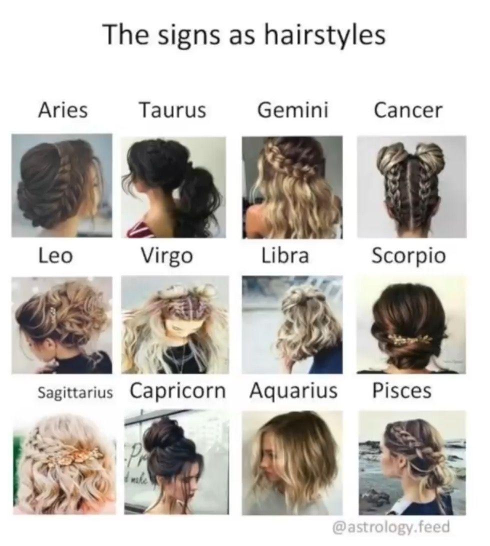 Hair Zodiac Signs | Hair Zodiac Signs