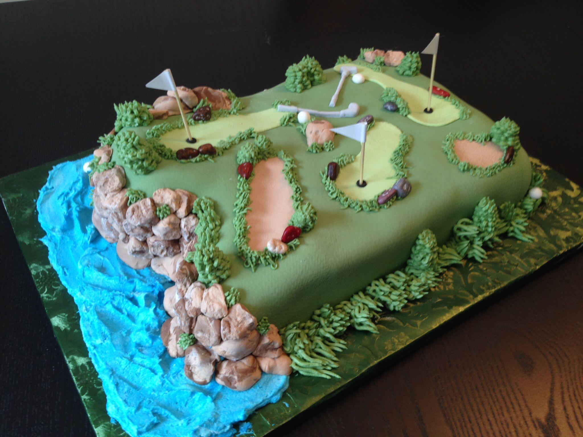 Golf course cake golf course cake golf cake cake