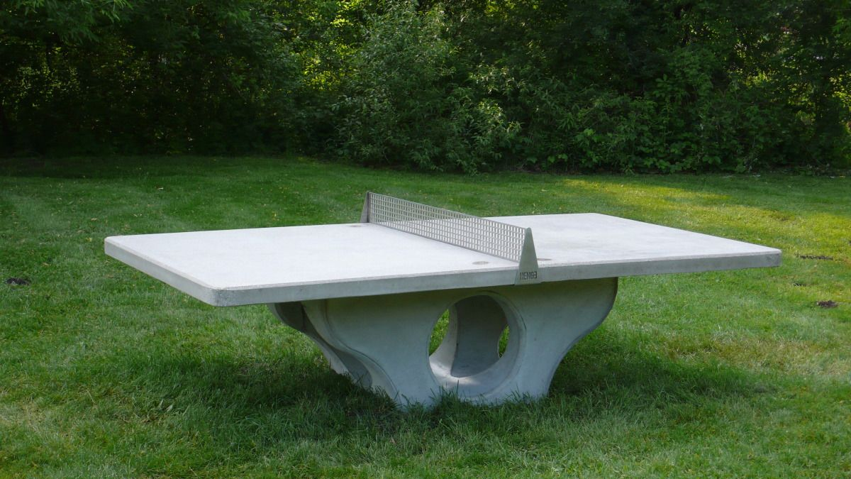 Would Love Outdoor Concrete Ping Pong Table