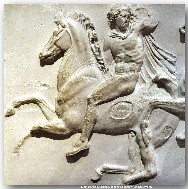 Elgin Marbles, British Museum, London. | Flickr - Photo Sharing!
