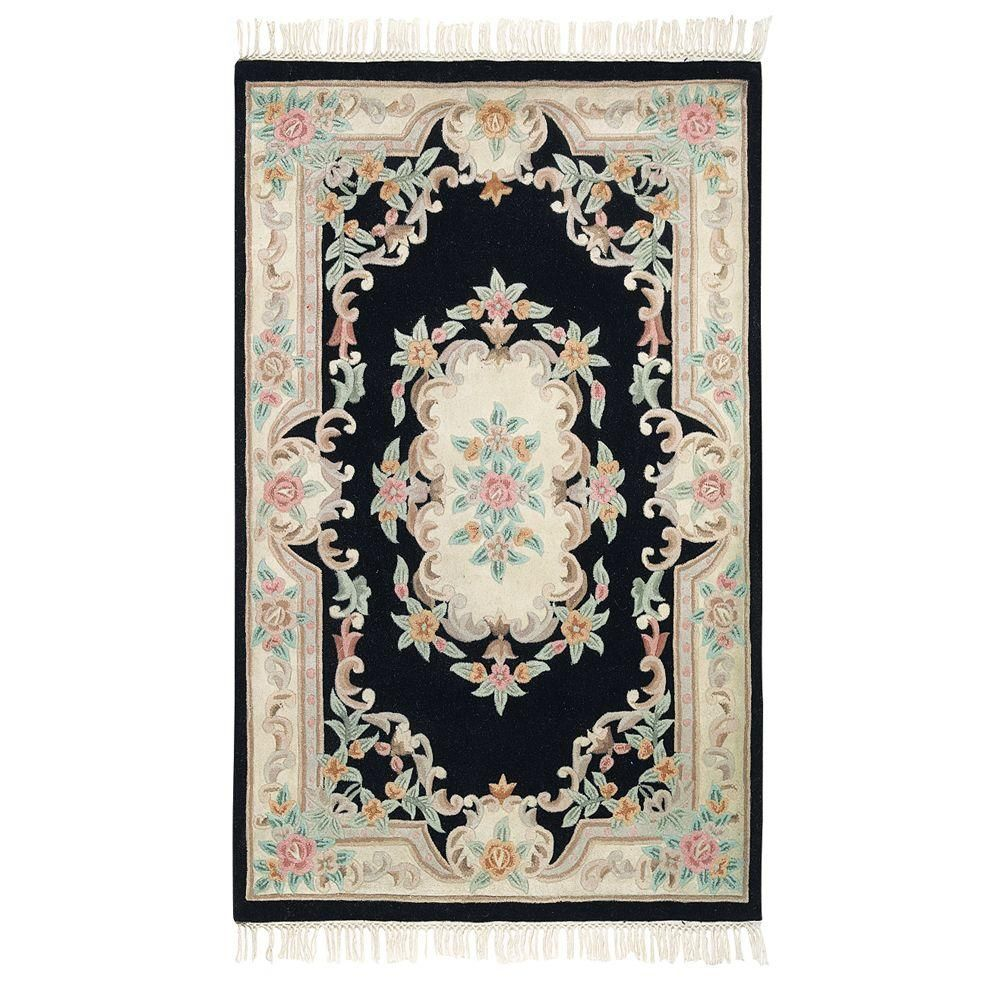 Imperial Black 1 Ft 9 In X 2 Ft 9 In Accent Rug Rugs Home Decorators Collection