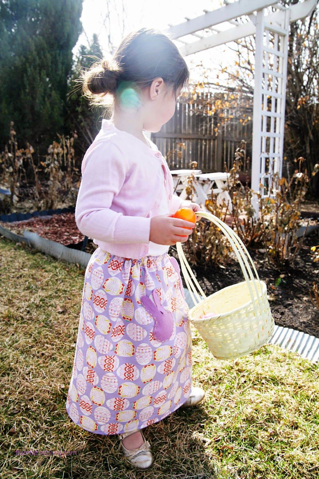 Easter Maxi Skirt Tutorial