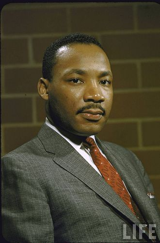 """MLK; """"... that some day this nation will rise up and live out the true meaning of its creed, that all men are created equal..."""""""