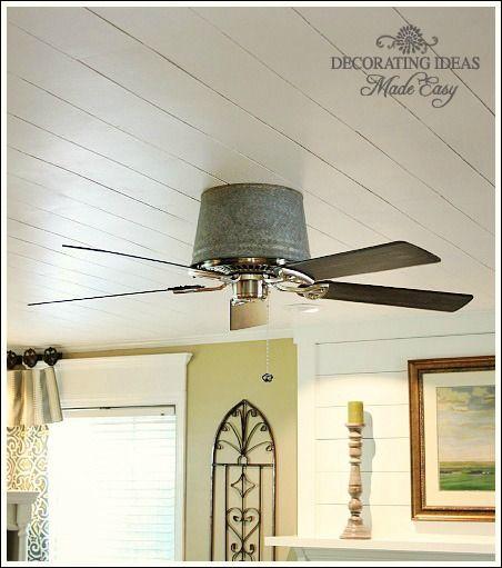Cheap And Chic Living Room Decor Ideas: Unique Ceiling Fans, Ceiling Fan, Ceiling