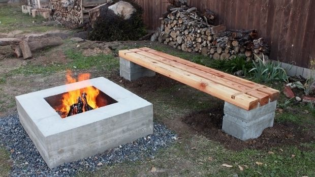incredible how to build a fire pit with cinder blocks 1000 ideas about cinder block fire pit on. Black Bedroom Furniture Sets. Home Design Ideas