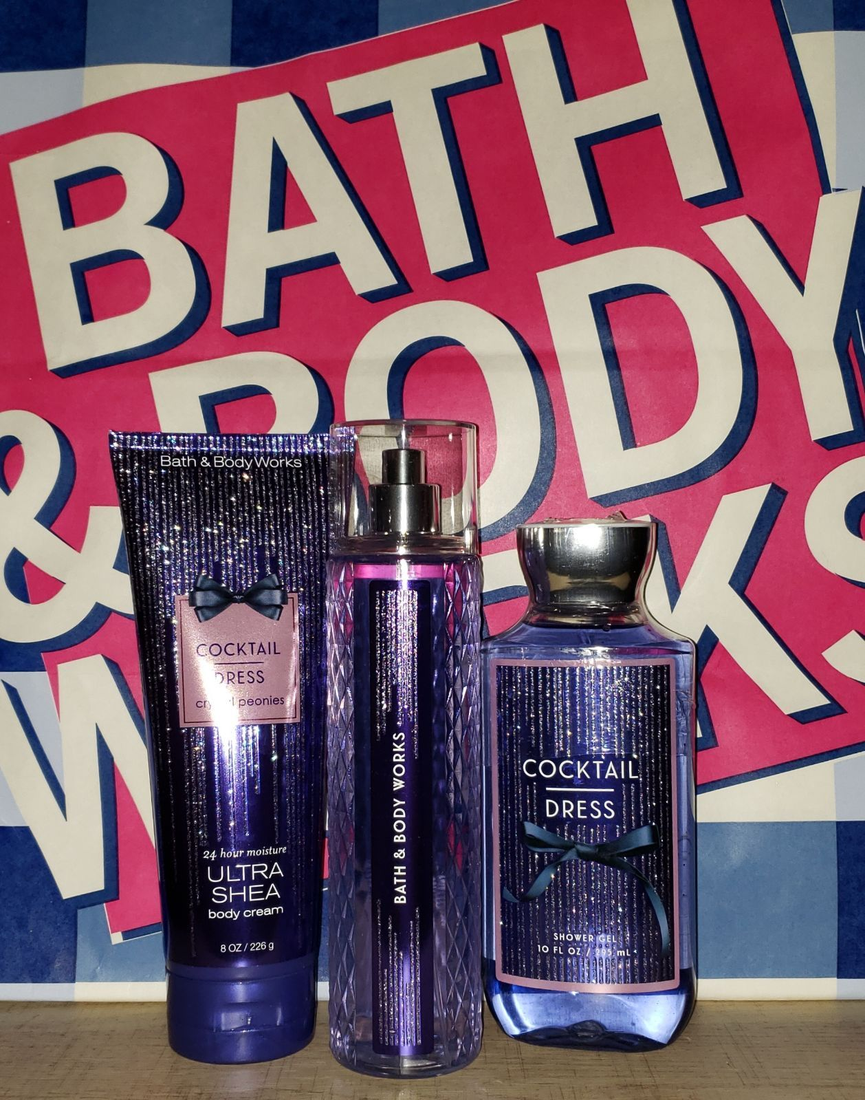 Bath Body Works Cocktail Dress 3 Piece Gift Set Set Includes Mist Body Cream Shower Gel Body Wash Bath And Body Works Bath And Body Body Cream [ 1599 x 1258 Pixel ]