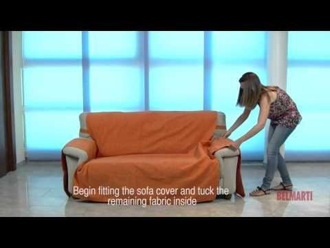 funda cubre sofa Rosagabriel.  YouTube | Issa | Pinterest