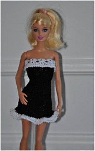 Barbie Cocktail Dress pattern by Jessica Eisert | STRICKEN ...