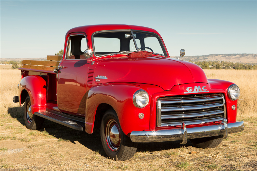 For sale at auction: This is equipped with a GMC 6-cylinder