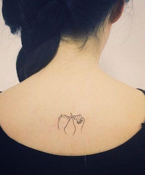 22 Good Looking Tiny Tattoo Designs For Women Styles Beat Promise Tattoo Tattoos Line Tattoos