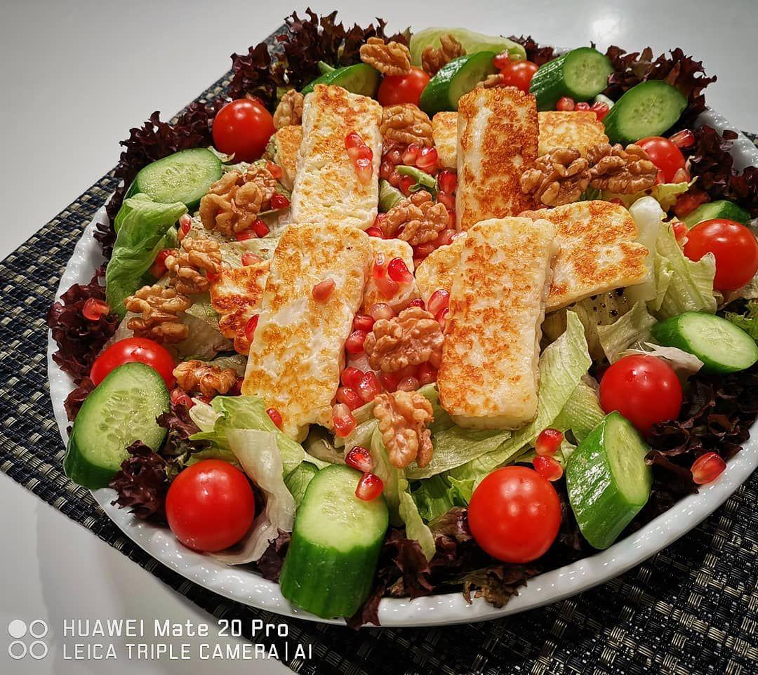 5 823 Likes 93 Comments ديما حجاوي Deema Hajjawi Deemahajjawi On Instagram سلطة الحلوم المشوية ٢ كوب خس ملون ٢ كوب جرجير جبن Cobb Salad Salad Fatafeat