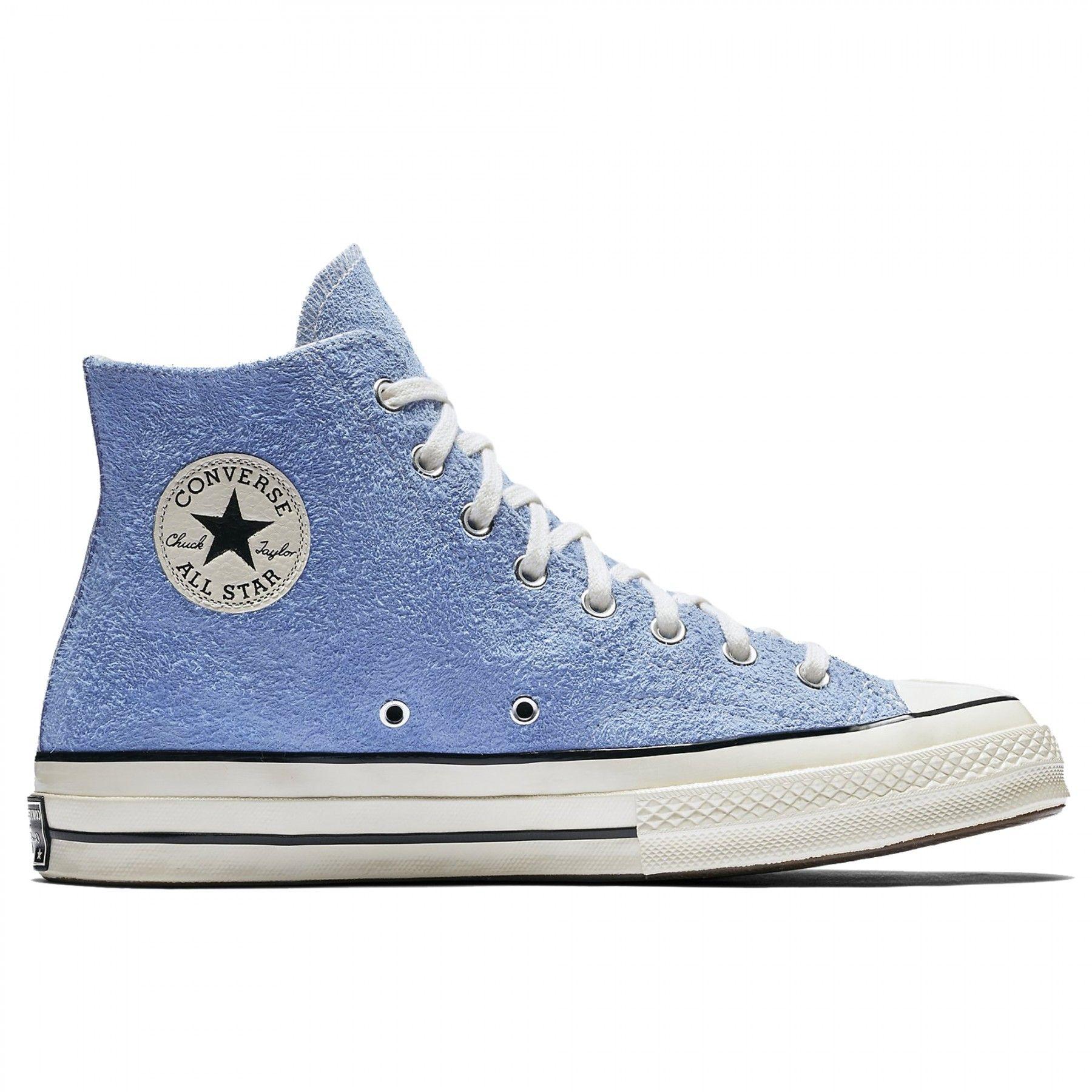 2e4991bcdbcd Converse Chuck Taylor All Star 70 HI Vintage Suede (Blue)