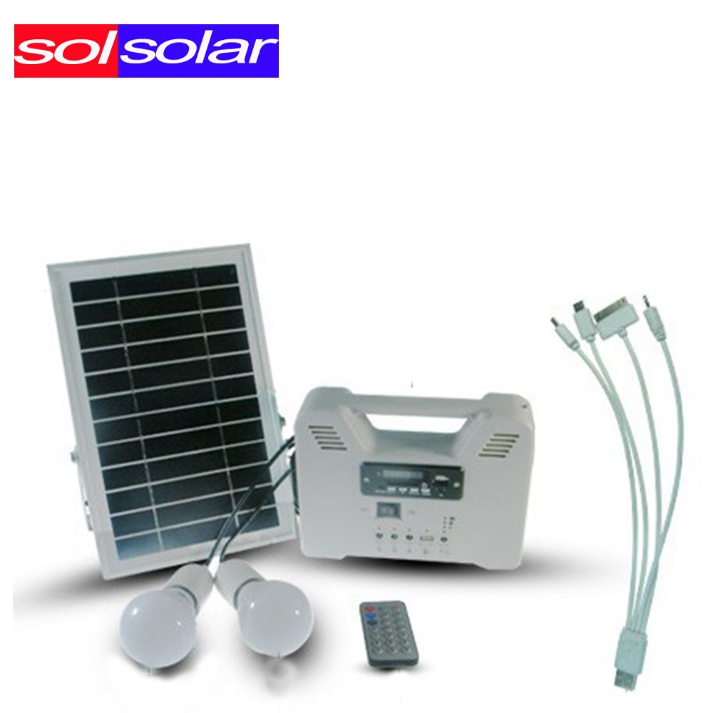 New Multifunctional Portable Solar Power Lighting System with Pv ...