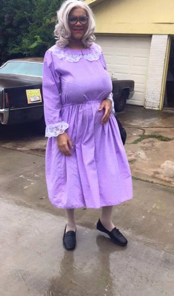 characterdayspiritweek Madea costume, Spirit week
