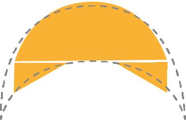 Winged Crescent Shawls