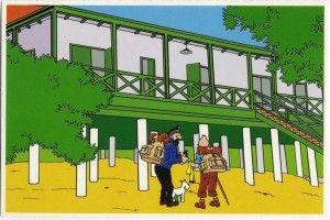 Tintin a visité l'Andalousie