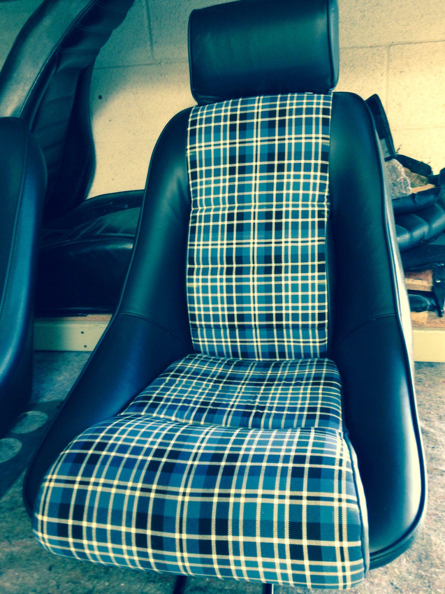 Outlaw  Seats | porsche outlaw | Porsche 924, Car seat upholstery
