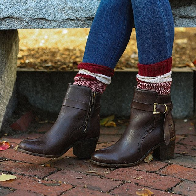 The Malorie Knotted Short Boots from The Frye Company