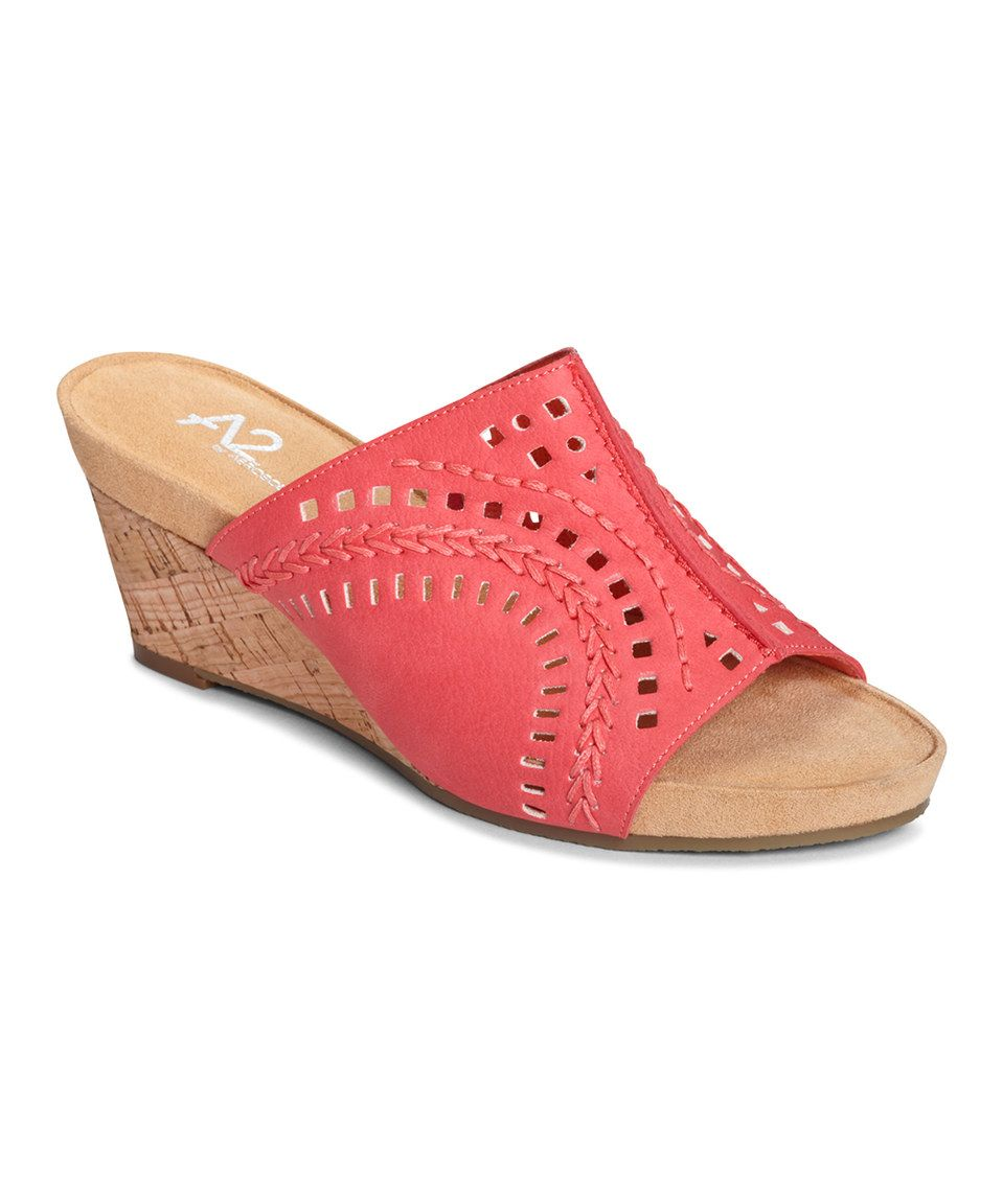 Loving this Coral Highlight Slide on #zulily! #zulilyfinds