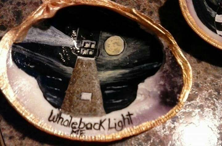 Whaleback Light on the half shell!