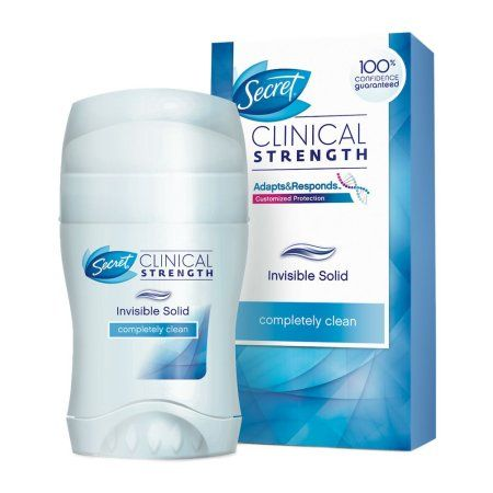 Secret Clinical Strength Invisible Solid Roll on Deodorant