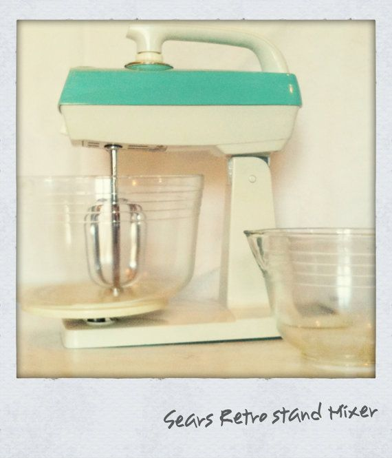 Early 1950s Vintage Sears 12-Sd Stand Mixer | the fifties ... on