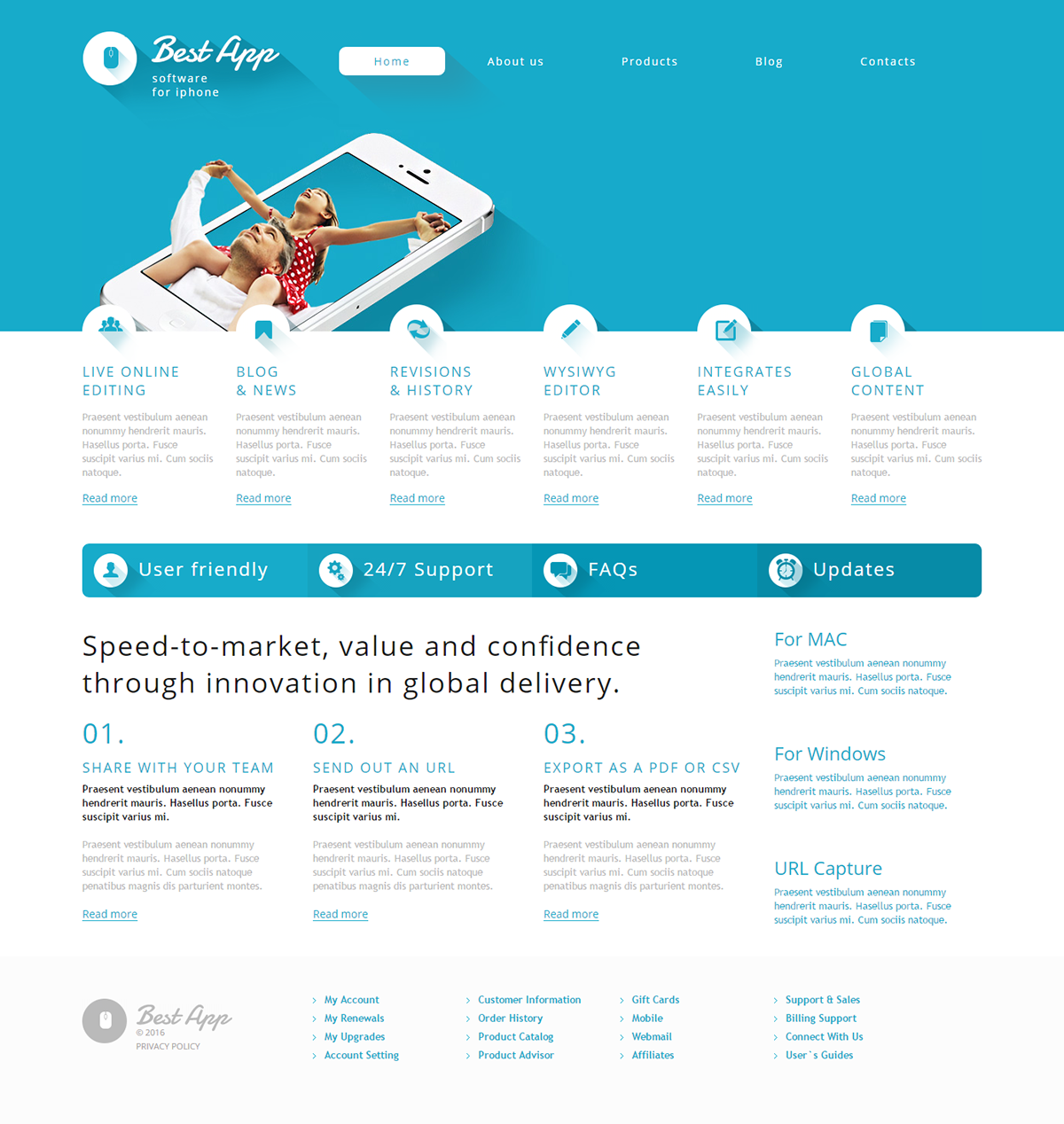 Software Development Wordpress Theme Wordpress Themes Pinterest