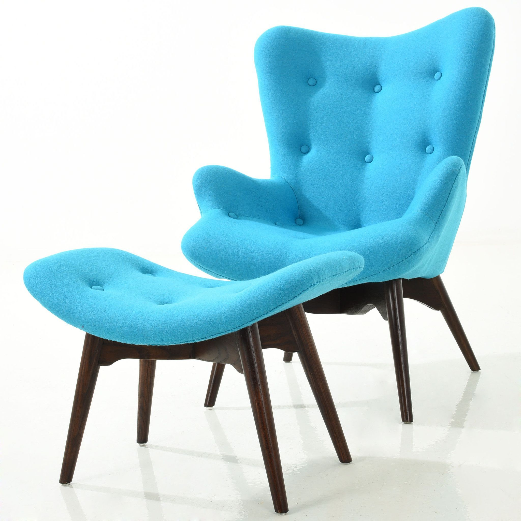 Pleasant Edgemod Auzzie Lounge Chair And Ottoman Products Chair Ibusinesslaw Wood Chair Design Ideas Ibusinesslaworg