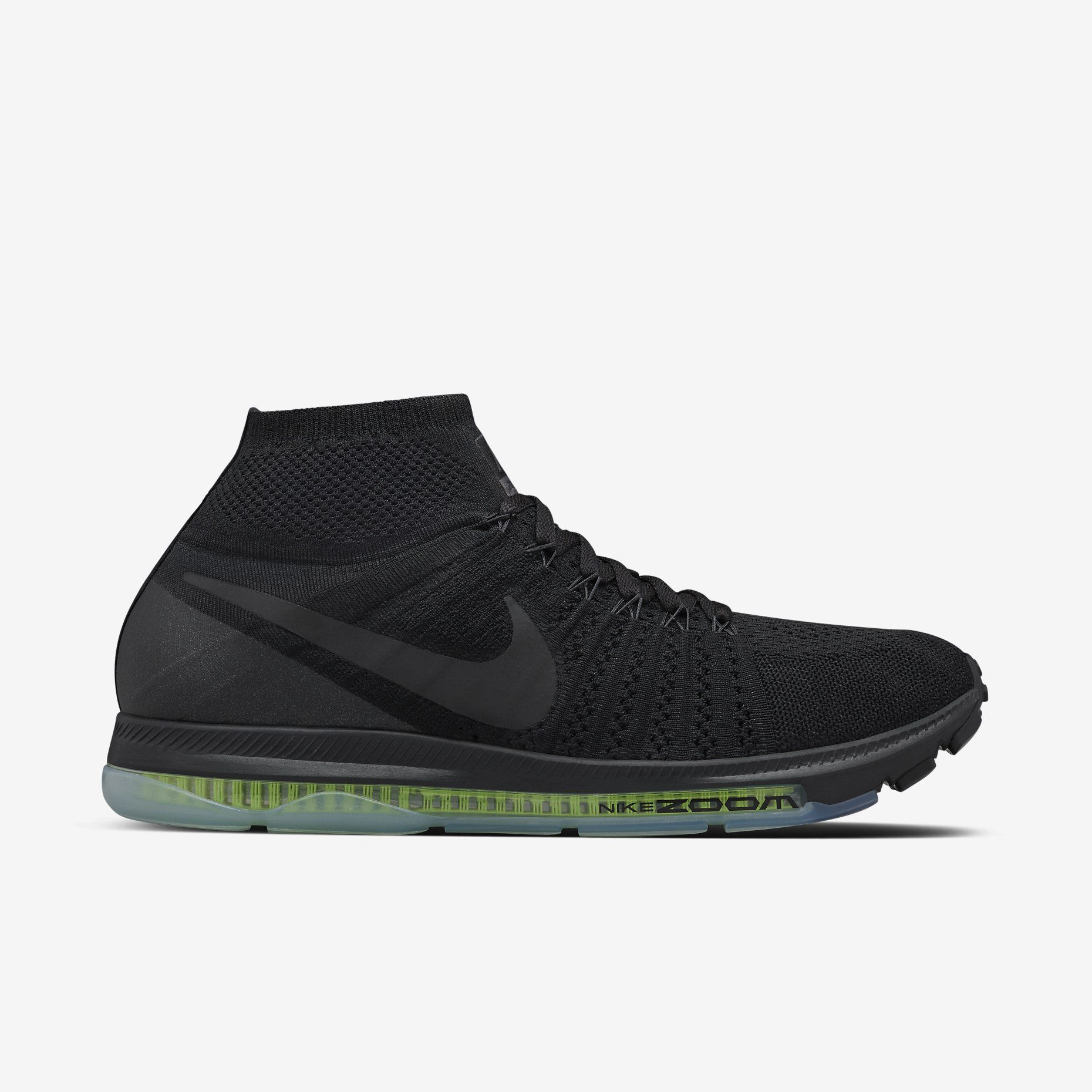 NIKELAB AIR ZOOM ALL OUT FLYKNIT MEN'S RUNNING SHOE | $200. Chaussure Nike  Pas CherHomme NoirLe ...