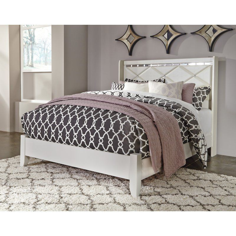 Signature Design by Ashley Dreamur Wingback Panel Bed - ASHY2820