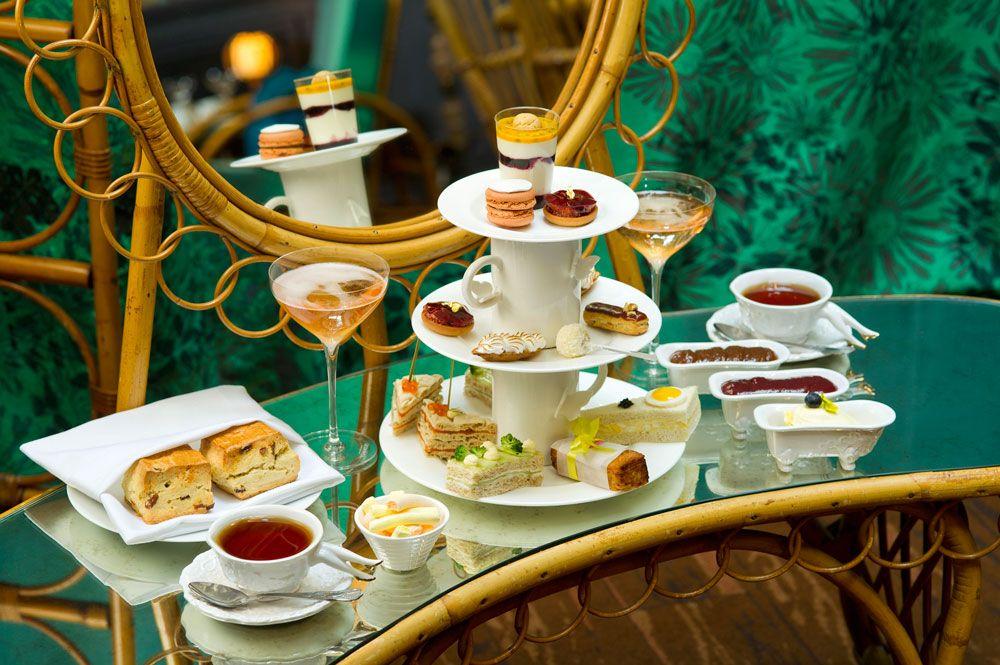 Manolo Blahnik Fashion Afternoon Tea Sketch Afternoon Tea
