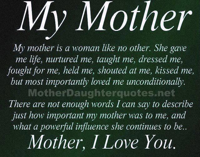 669b8d7a067a0f4f72f81886fa270bb6 my mother quotes pinterest,I Love My Daughter Meme