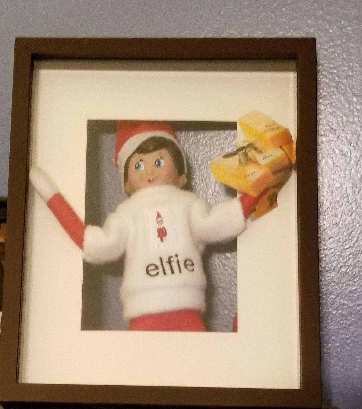 Say Cheese! Taking An Elfie