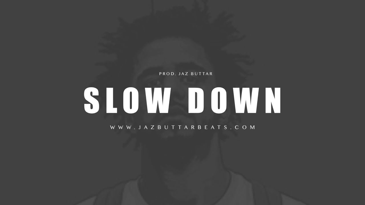 J Cole Type Beat - Slow Down | Eminem x 6Lack | Hip Hop Rap