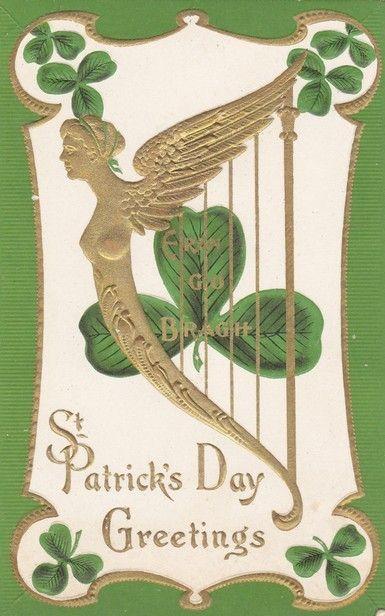 Antique st patricks day greetings ireland erin go bragh postcard antique st patricks day greetings ireland erin go bragh postcard ebay m4hsunfo
