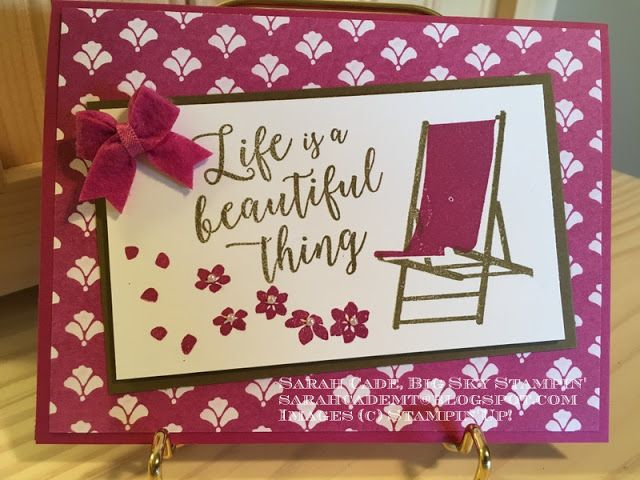 Big Sky Stampin': Speaking of chairs....