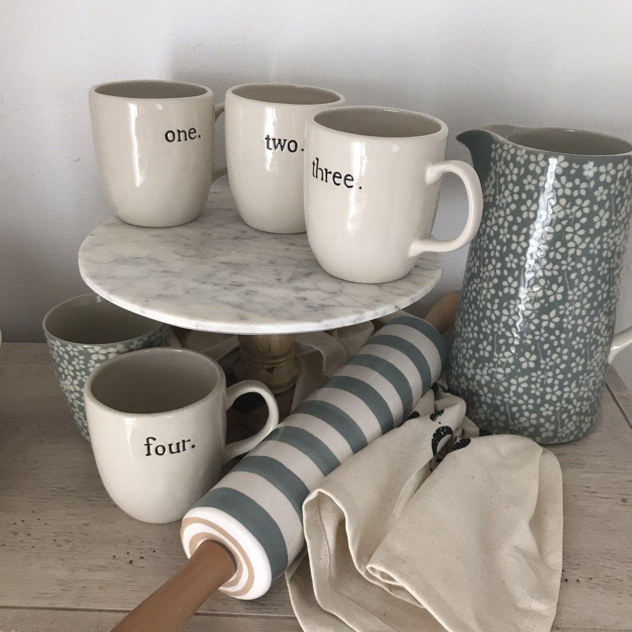 Rae Dunn Rare Boutique Discontinued Mugs Mercari Buy Sell