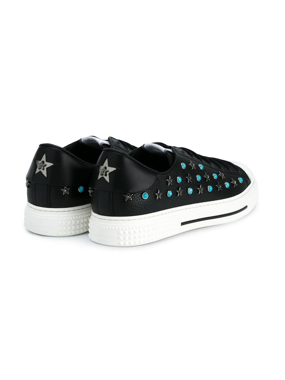 3901fbc116aa5 Valentino Valentino Garavani 'Star Studded' sneakers Studded Sneakers, Valentino  Garavani, Latest Mens