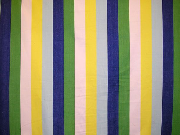 Stripe Blue Green And White: Flying Blue Striped Fabrics