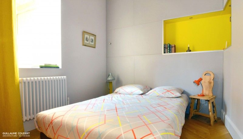 Appartement 3 Marie Lyon 69005 Guillaume Coudert Architecture D Interieur In 2020 Home Decor Furniture Toddler Bed