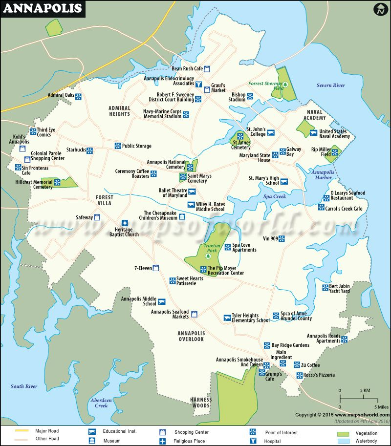 Annapolis Map World information Pinterest City maps Maryland