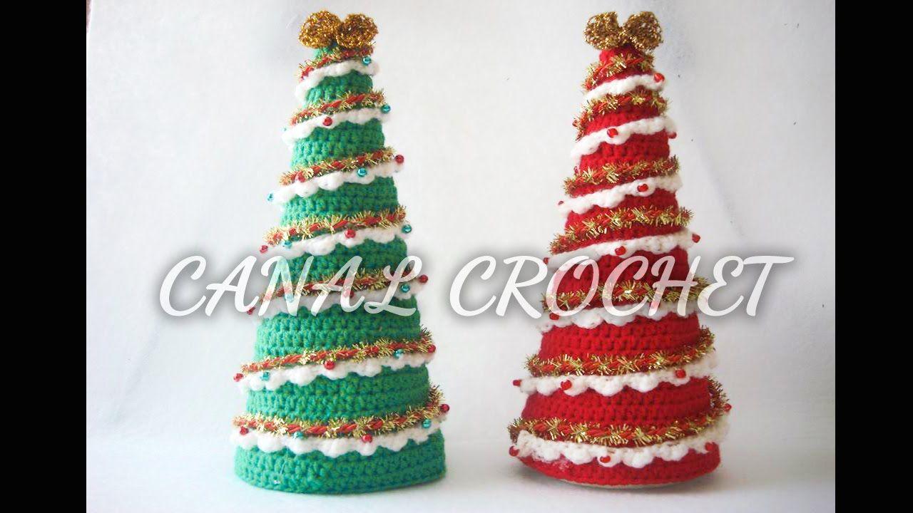 Arbol de navidad tutorial | Ganchillo | Pinterest | Navidad y Ganchillo