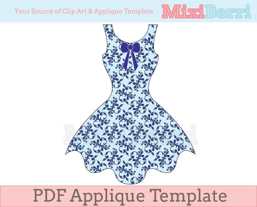 dress outline google search applique patterns pinterest