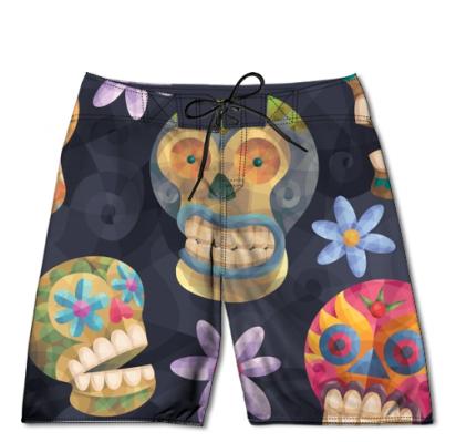 60f0854c4cdc7 Dia de los Muertos Boardshorts | Quirkypants | Fashion, Day of the ...