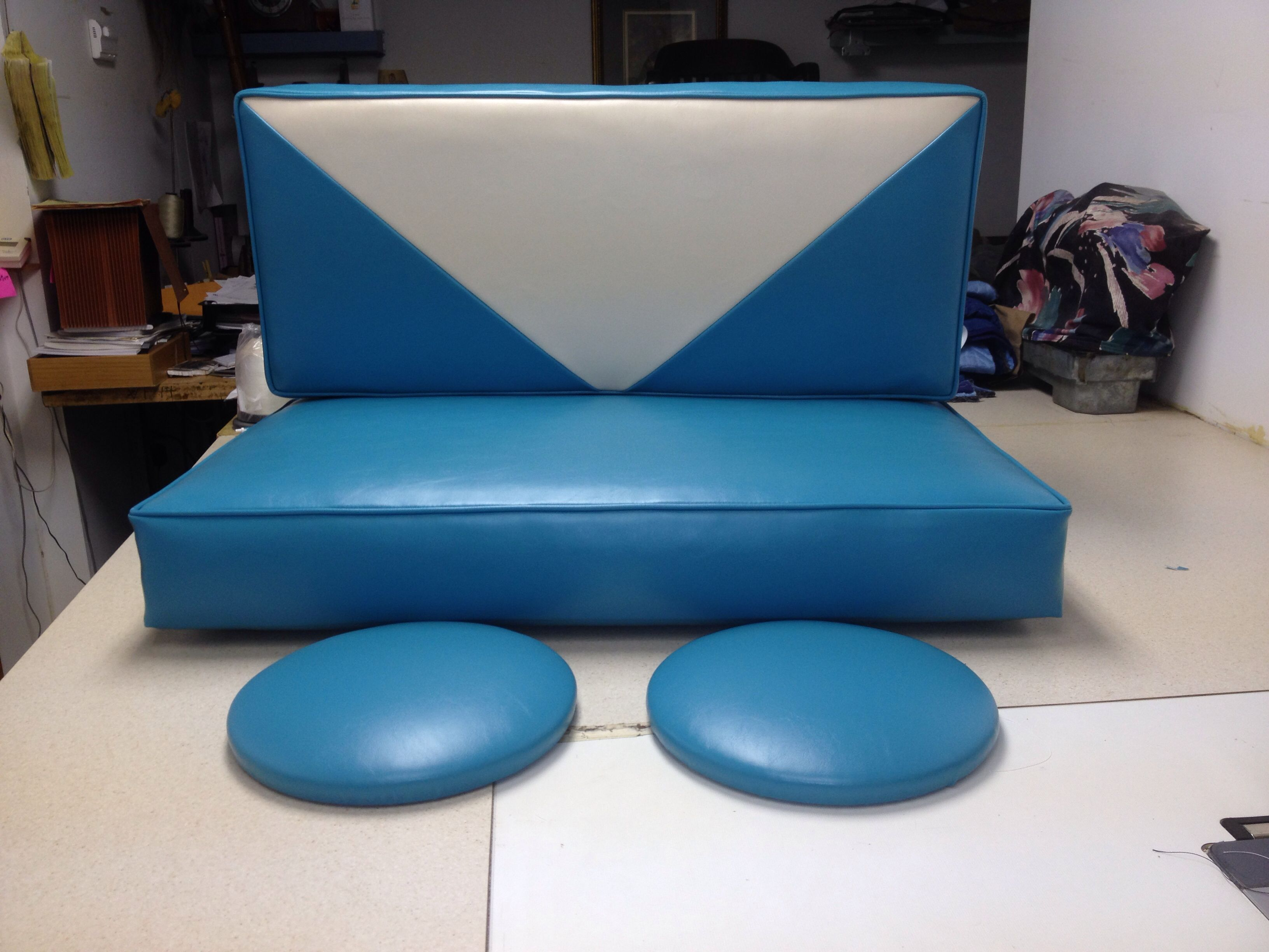 Small bench and bar stool seats