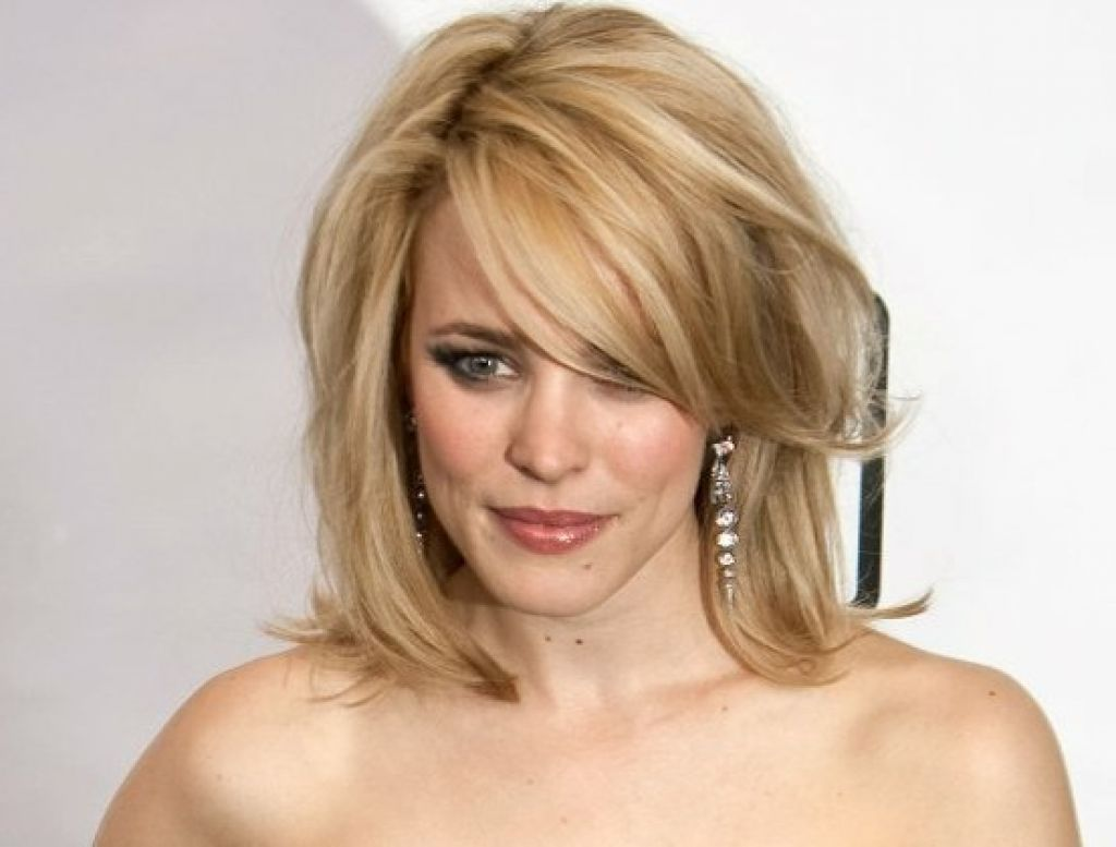 shoulder length hairstyles thin wavy hair - easy casual