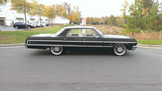 1964 Chevrolet Impala 4 Door Hardtop V 8 350 Used Classic Impala Chevrolet Chevrolet Impala